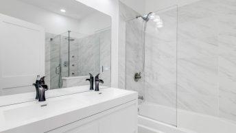 baignoires à porte